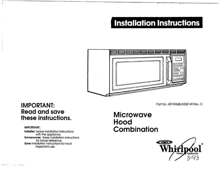 english installation manual of
