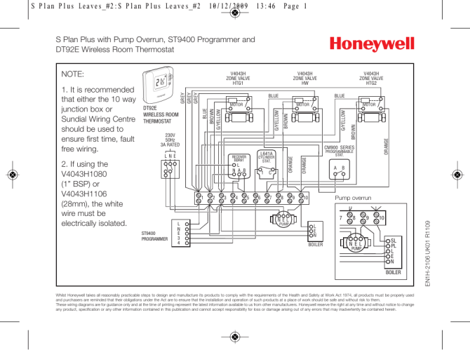 honeywell wiring centre diagram skoda octavia fuse box pdf