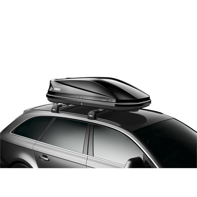 porte ski et snowboard coffre de toit pour skis coffre de toit taille m thule touring 200 noir brillant 400 l