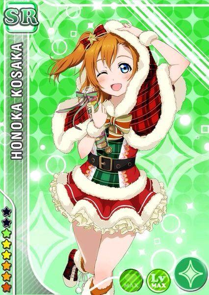Love Live School Idol Project Christmas Cards Anime Amino