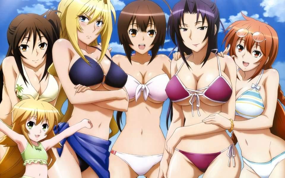 Animes de Samurai com Ecchi e Garotas Samurai