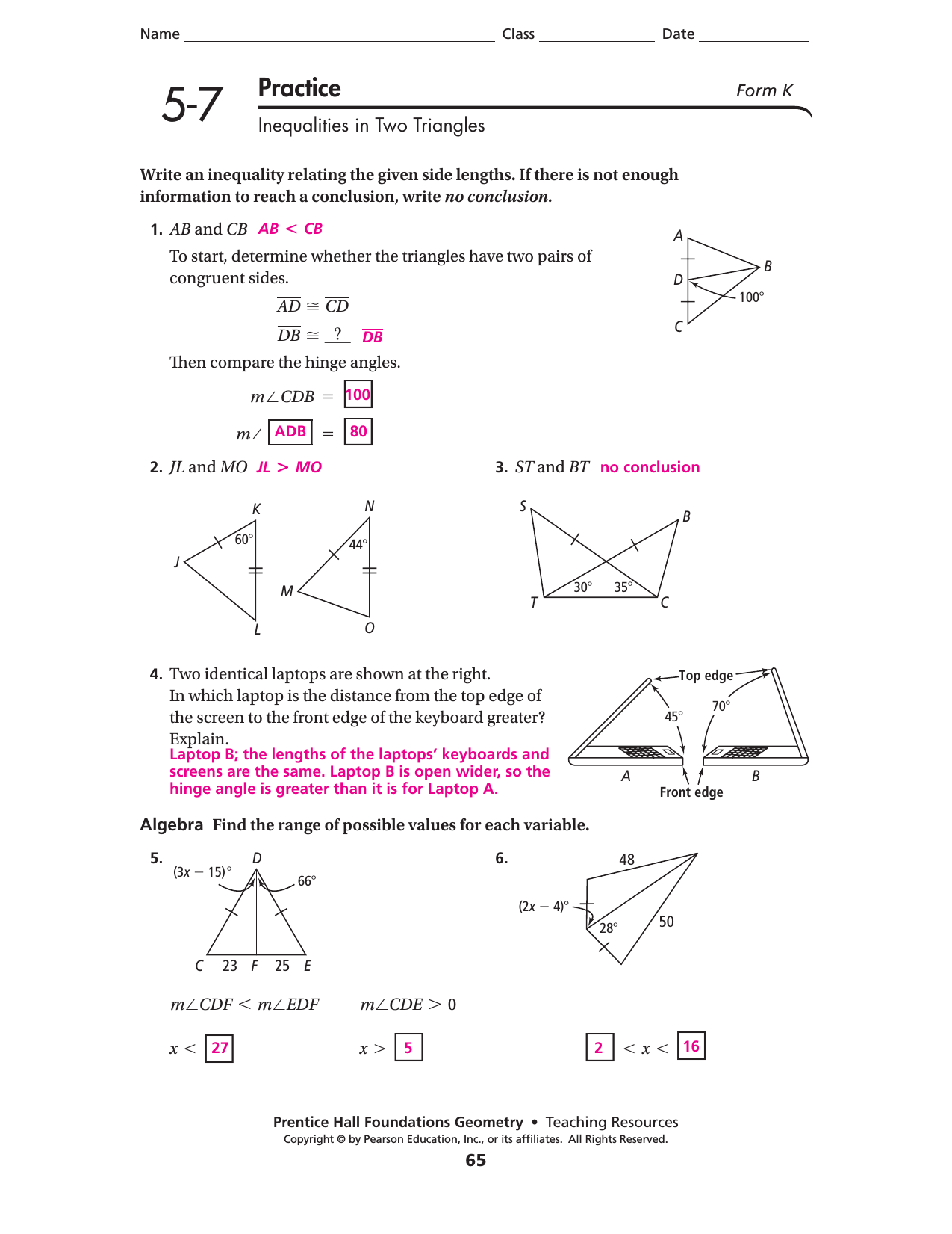 3 2 Practice Solving Systems Of Equations Algebraically