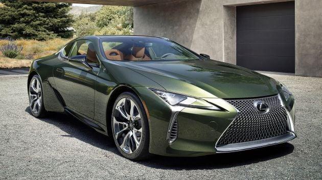 Lexus LC 500 - Green