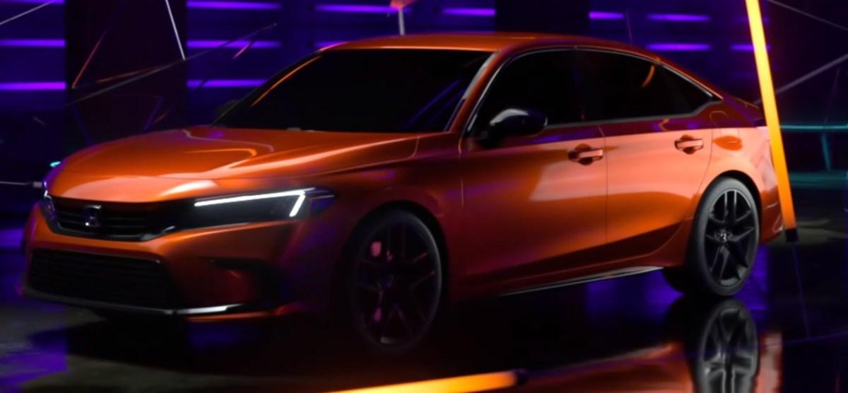 2022 Honda Civic Prototype Twitch reveal-1 - Paul Tan's Automotive News