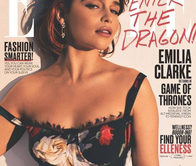 Emilia Clarke Talks About The Got Sex Scenes Backlash From Women