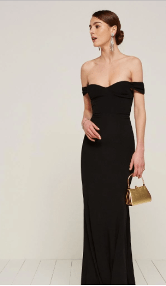 A Simple Rule Of Thumb When Putting Together Black Tie Wedding Outfit Is Asking Yourself What Would I Wear If Were Invited To The Golden Globes