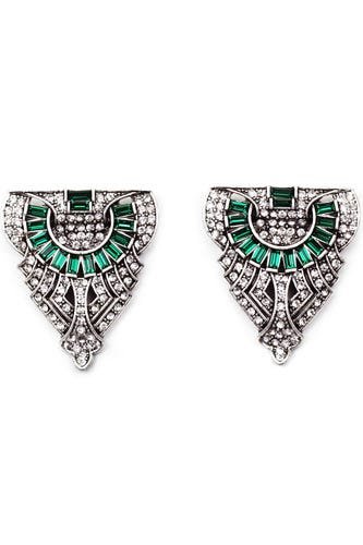 Lulu Frost For JCrew Art Deco Holiday Collection