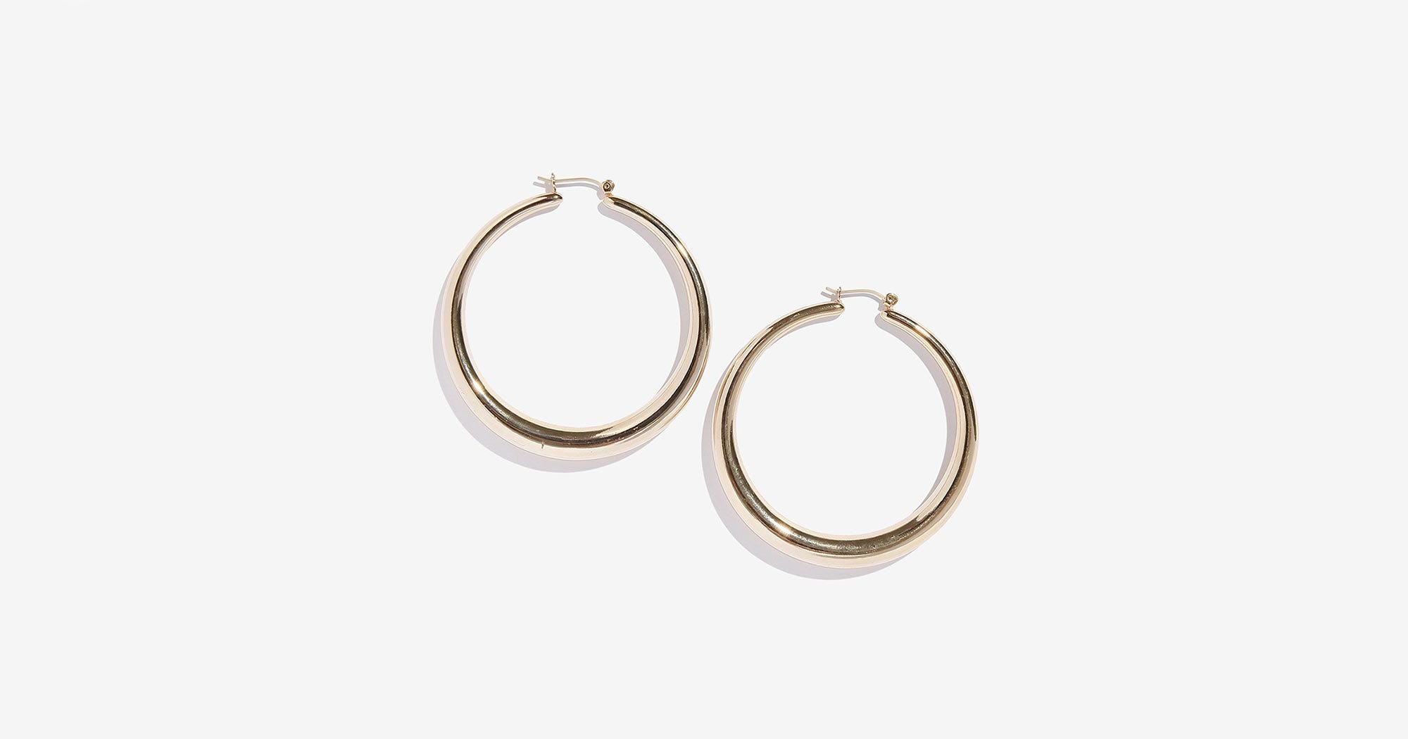 Affordable Hoop Earrings Adornmade Kylie Jenner