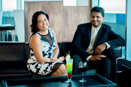 Stacey and Chris Rahaman of Visit Guyana