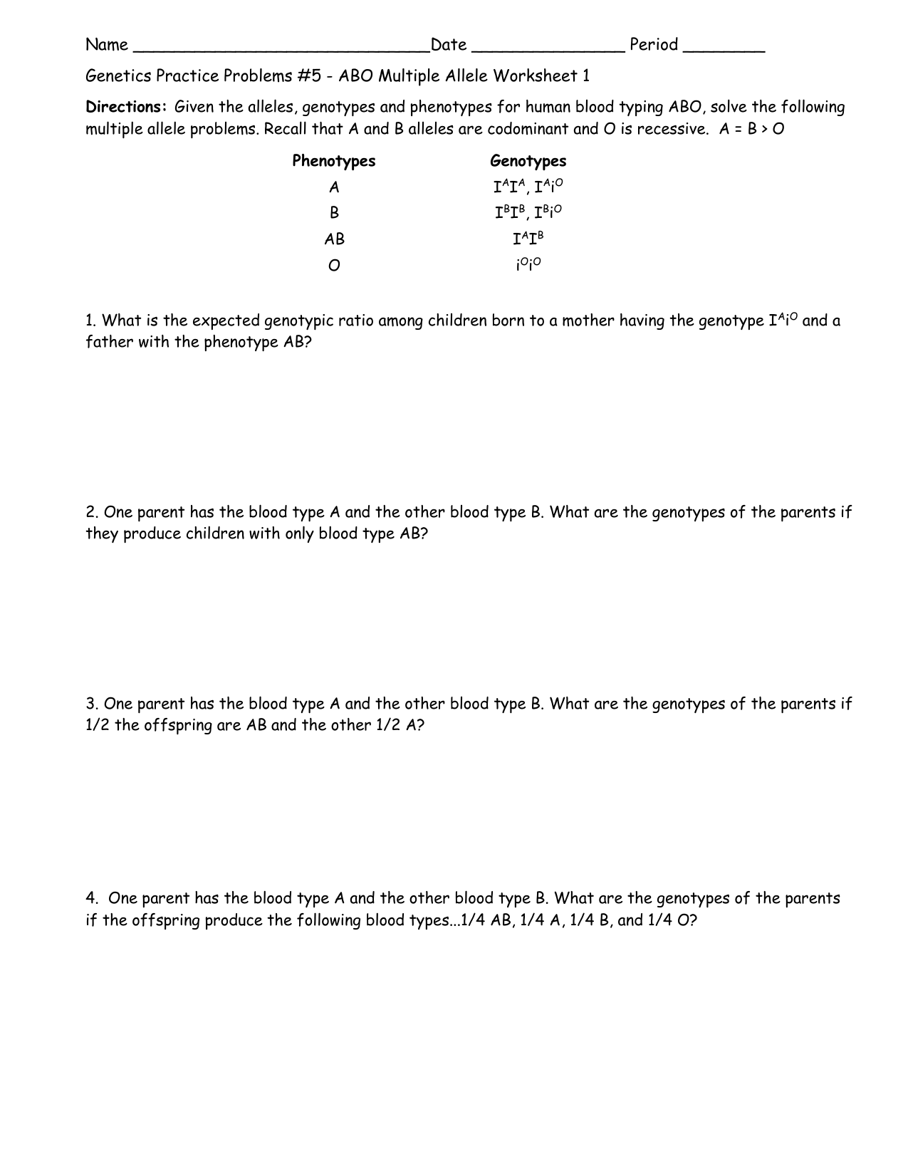 What Is Blood Worksheet