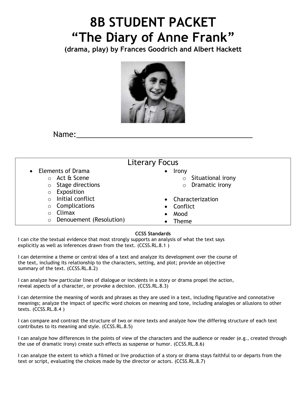 The Diary Of Anne Frank Setting And Historical Background