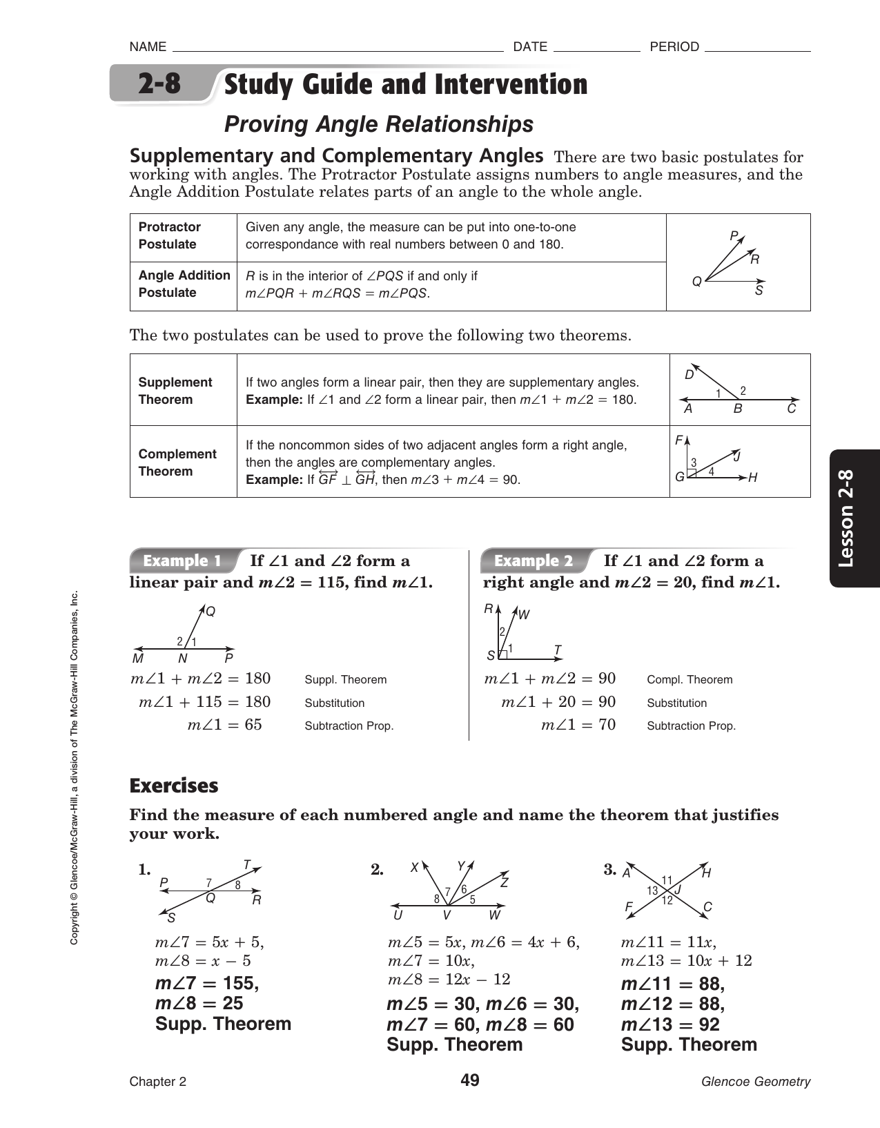 Bestseller Geometry Study Guide And Intervention Answers