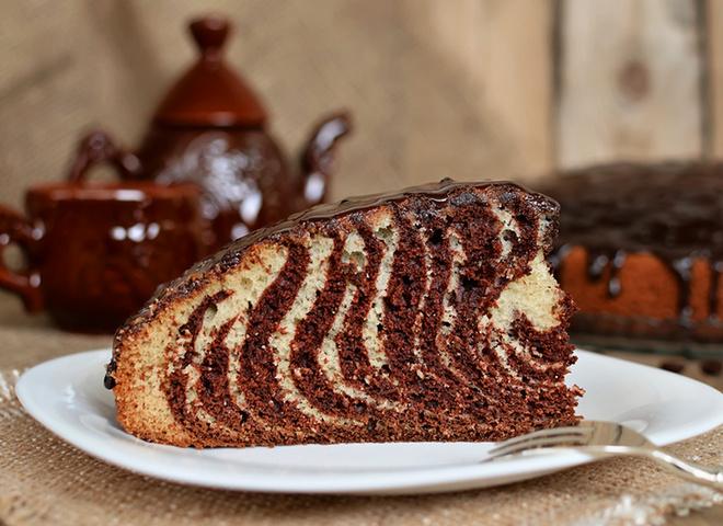 "d1eaca550ad0a35f75c67b5753b33bbe depositphotos 64809013 m 2015 - Cake ""Zebra"": a recipe for festive treats on the holiday table"