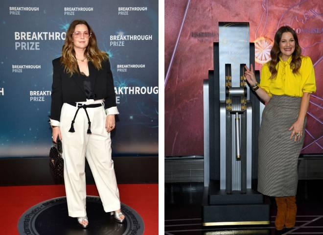 Дрю Беррімор до і після схуднення