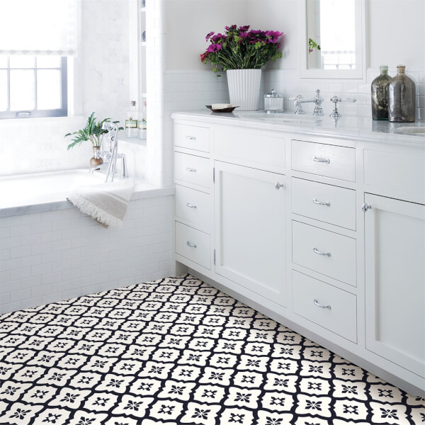 floorpops peel and stick self adhesive floor tiles comet