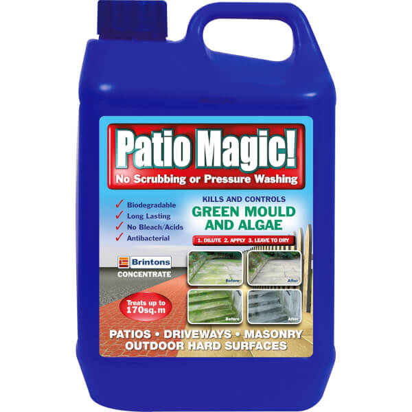patio magic hard surface cleaner 5l