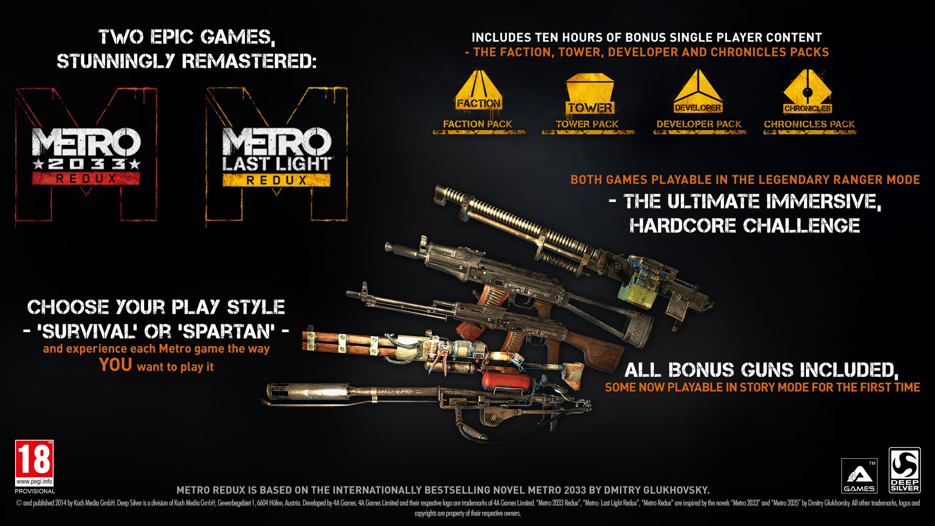 Metro Redux Xbox One Zavvi