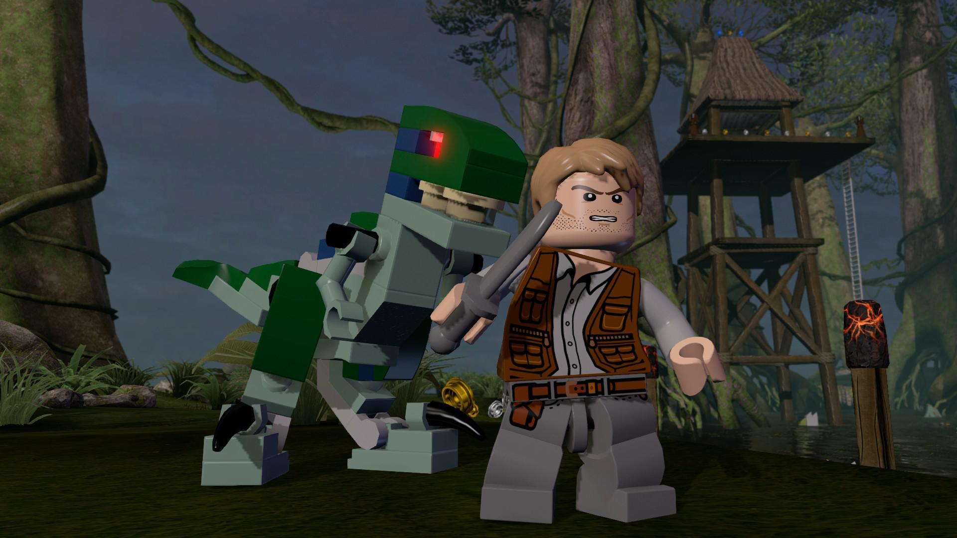 Lego Dimensions Jurassic World Team Pack Games Zavvi