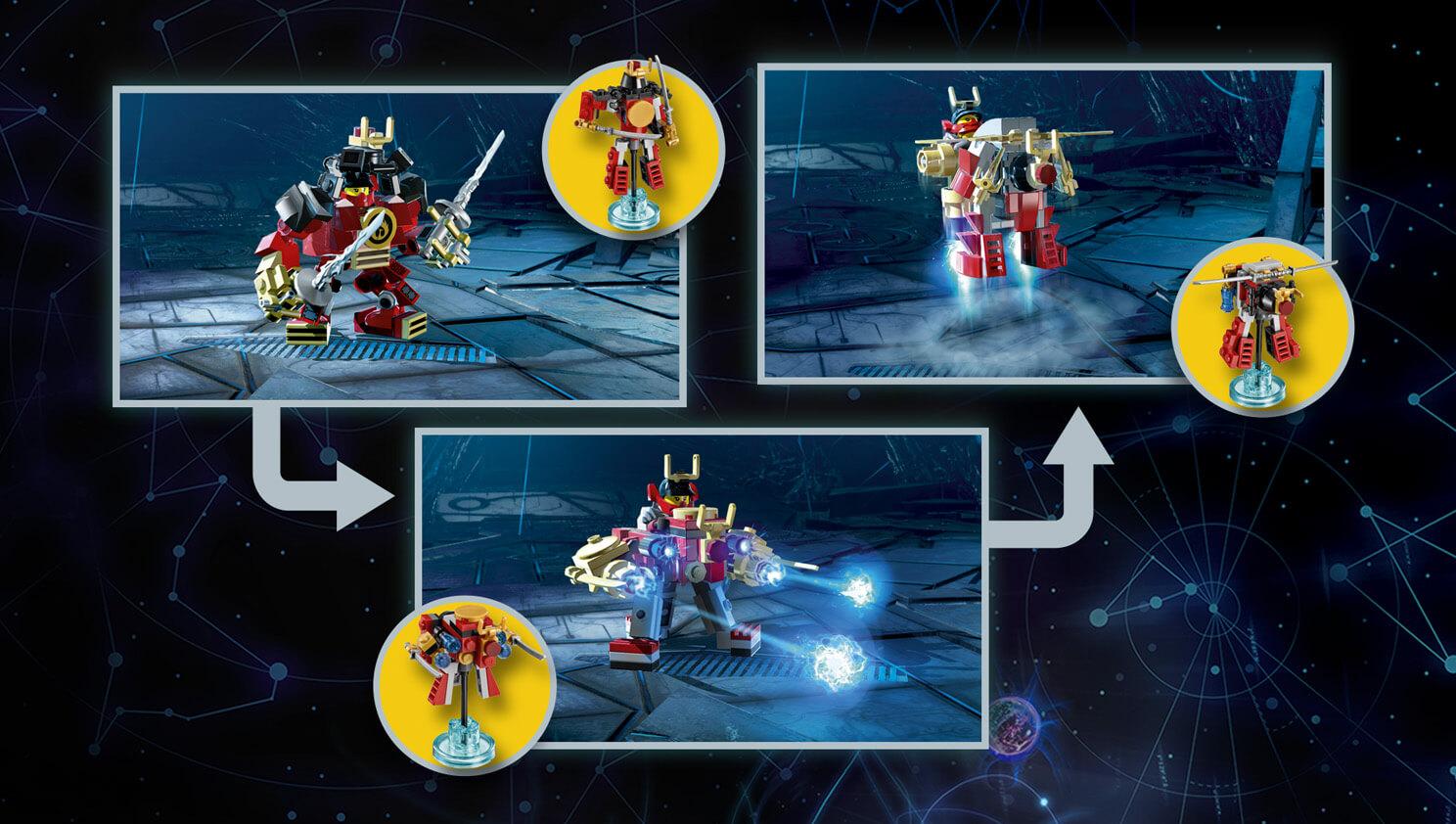 Lego Dimensions Ninjago Nya Fun Pack Games Zavvi