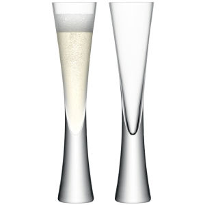 LSA Moya Champagne Flute - Clear (170ml)