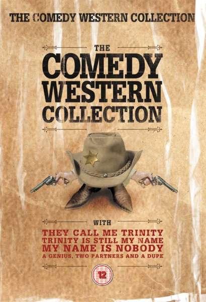 The Comedy Western Collection DVD Zavvi