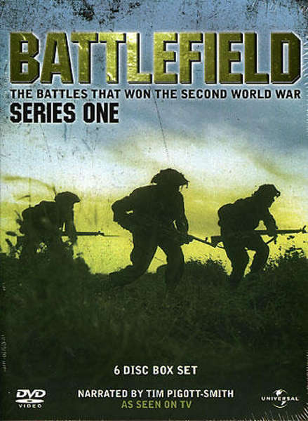 Battlefield Series 1 Box Set DVD Zavvi