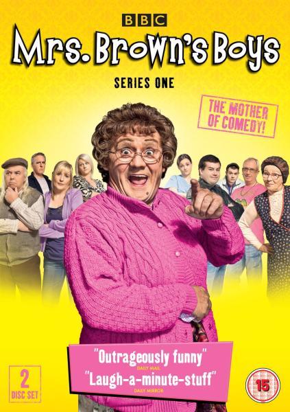 Mrs Brown's Boys - Series 1 DVD   Zavvi