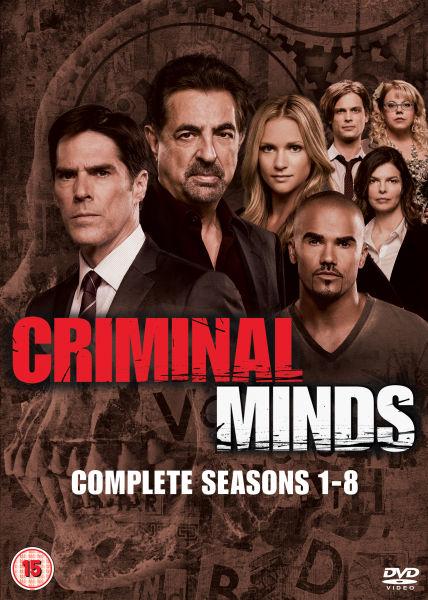 Criminal Minds Season 1 8 DVD Zavvi
