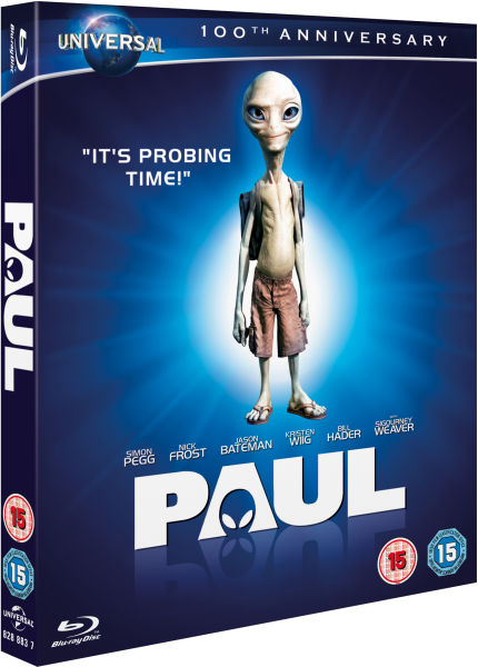 Paul Augmented Reality Edition Blu Ray Zavvi