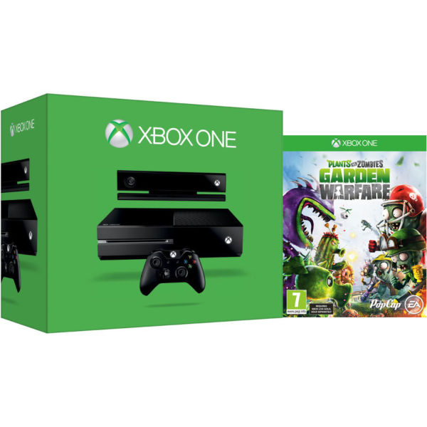 Xbox One New Console Includes Plants Vs Zombies Garden