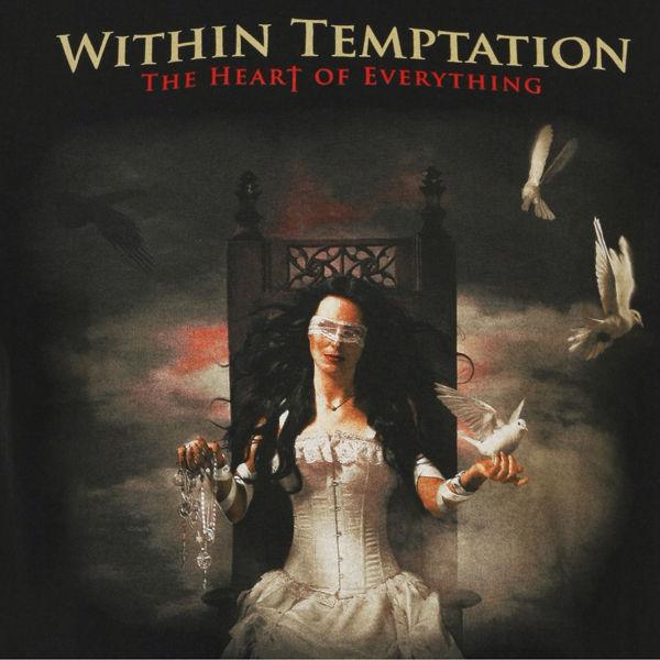 WITHIN TEMPTATION ALBUM T SHIRT BLACK M Clothing