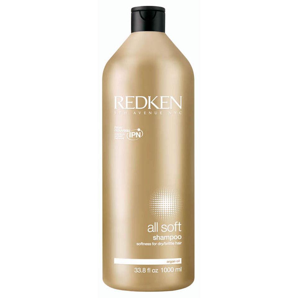 Redken All Soft Shampoo 1000ml With Pump Worth 4550