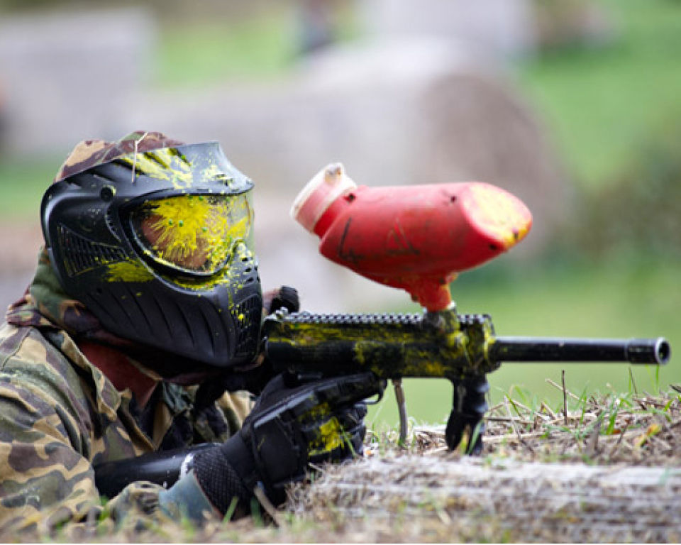 Paintballing For Eight IWOOT