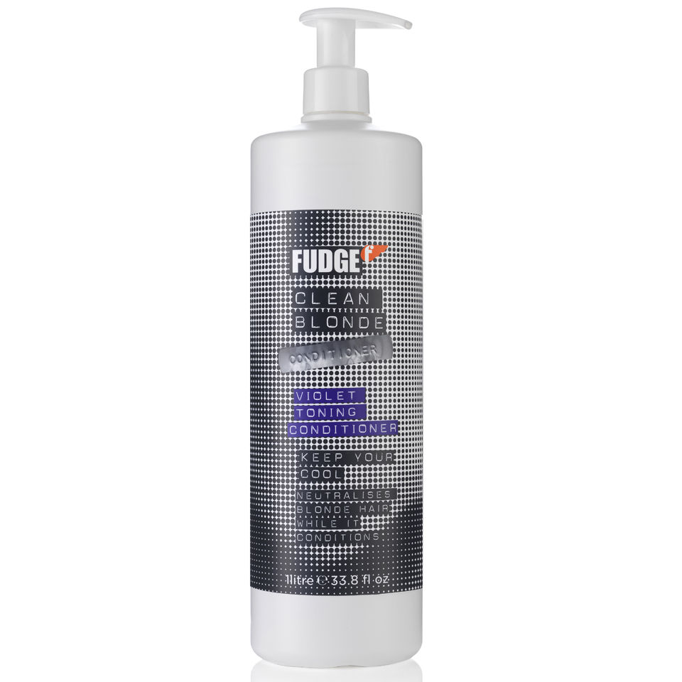 Fudge Clean Blonde Violet Conditioner 1000ml Free
