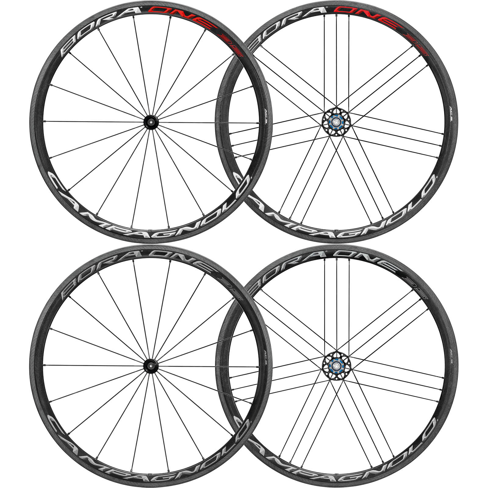 CAMPAGNOLO BORA ONE(ボーラワン) 35 クリンチャー ホイールセット - 2018