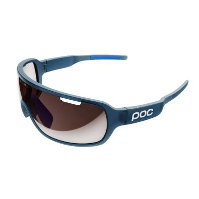 POC DO Blade Clarity Sunglasses - Lead Blue Translucent/Furfural Blue