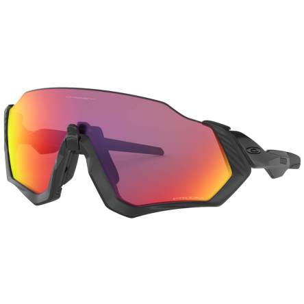 OAKLEY FLIGHT JACKET サングラス - POLISHED BLACK/PRIZM ROAD