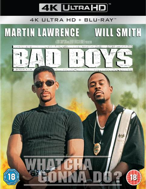 Bad Boys - 2 Disc 4K Ultra HD Blu-ray - Zavvi UK