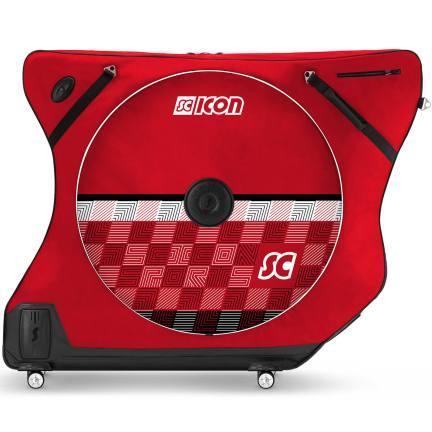 Scicon AeroComfort Road 3.0 TSA Bike Bag - Limited Edition - Checkmate - Scarlet Red