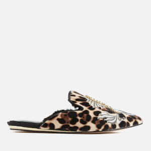 Kurt Geiger London Women's Ollie Pointed Flats - Beige Comb