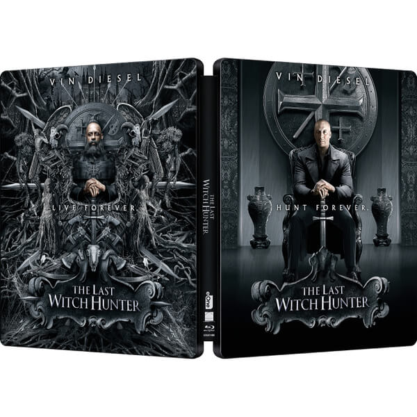 The Last Witch Hunter Zavvi Exclusive Limited Edition Steelbook Blu Ray Zavvi
