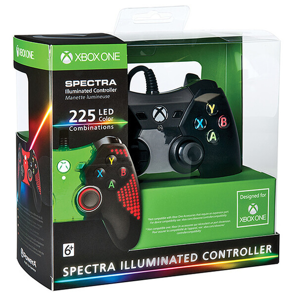 Xbox One Licensed Spectra Illuminated Controller Games
