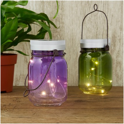 Solar Fairy Jars (Set of 2) Love The Sales