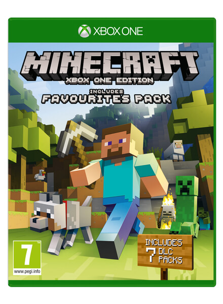 Minecraft Xbox One Edition Favourites Pack Xbox One Zavvi