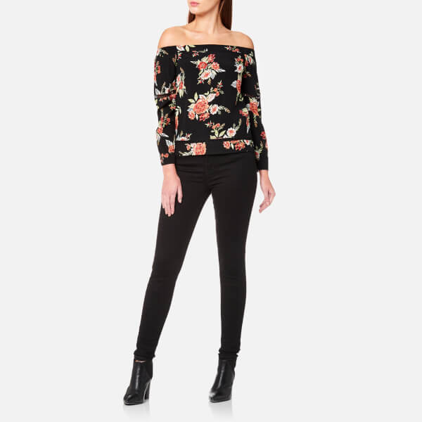 MINKPINK Women's Wallflower Off Shoulder Top