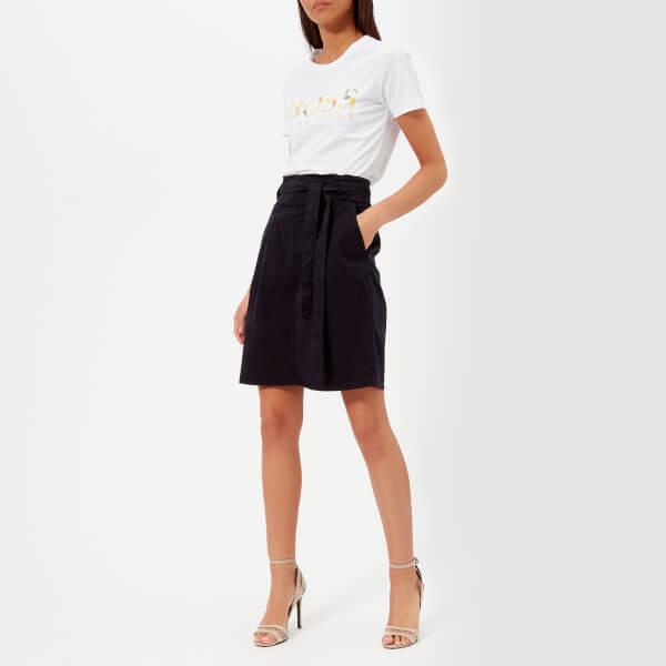 BOSS Orange Women's Bichina Skirt - Dark Blue