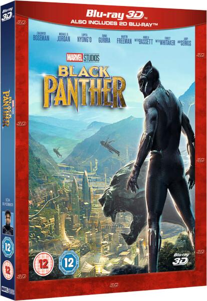 Black Panther 3D Includes 2D Version Zavvinl