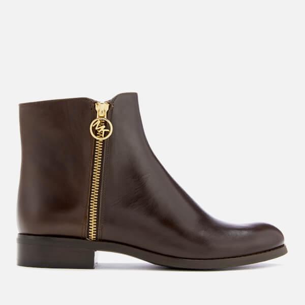 MICHAEL MICHAEL KORS Women's Jaycie Flat Ankle Boots - Nutmeg