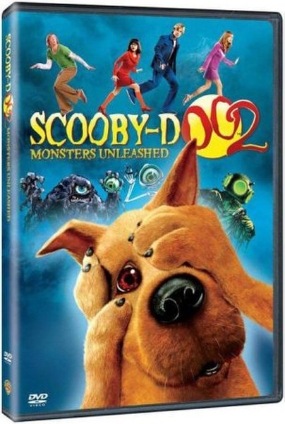 2 Menu Unleashed Doo Dvd Scooby Monsters