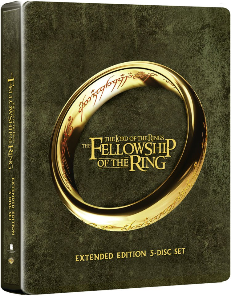Dvd Fellowship Rings Lord